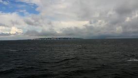 在海运somethere塔林附近的波儿地克的爱沙尼亚 影视素材