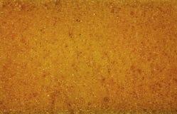 在海绵结构的接近的看法 库存照片