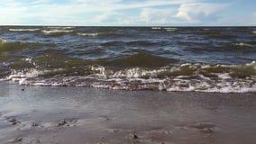在海滩波罗的海 股票录像