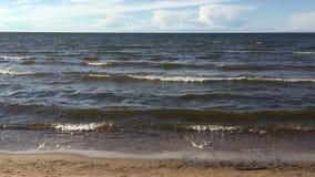 在海滩波罗的海 影视素材