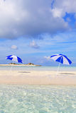 在海滩的夏令时 免版税库存照片