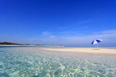 在海滩的夏令时 免版税图库摄影
