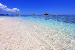 在海滩的夏令时 免版税库存图片