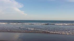 在海滩的天 图库摄影