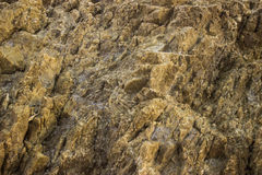 在海滩的岩石 库存图片