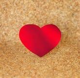 在海滩的心脏 免版税库存照片