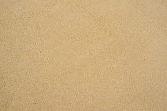 在海滩的沙子背景 免版税库存图片
