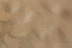 在海滩的沙子 免版税库存图片