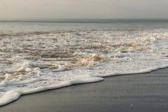 在海滩的海滨哥斯达黎加 免版税库存图片