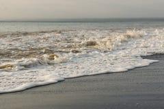 在海滩的海滨哥斯达黎加 免版税库存照片