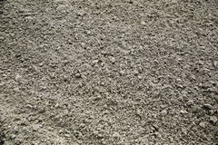 在海滩的湿沙子 免版税库存图片