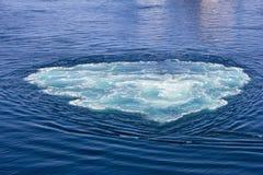 在海水的漩涡 库存图片