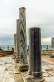 在海滨的罗马别墅在凯瑟里雅- 2 库存图片