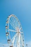 在海滩的美丽的弗累斯大转轮里米尼 免版税库存照片