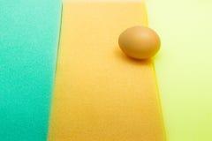 在海绵的鸡蛋 免版税图库摄影