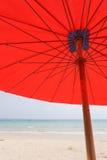在海滩的Sailer 免版税图库摄影