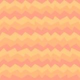 在淡色橙色和红颜色的几何秋天样式 库存图片