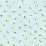 在淡色背景的舡鱼纸 免版税库存图片