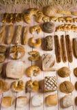 在混合上添面包 免版税库存照片