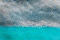在混杂的蓝灰色颜色的抽象背景 免版税库存图片