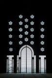 在清真寺哈桑二世里面在卡萨布兰卡,摩洛哥。 免版税库存图片