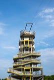 在清莱省的现代跳跃的塔 免版税图库摄影