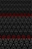在渐进性的锋利的之字形菱形纹理样式 库存例证