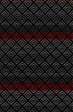 在渐进性的锋利的之字形菱形纹理样式 皇族释放例证