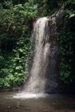 在温泉城附近的小瀑布 库存图片