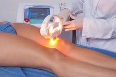 在温泉的皮肤治疗 免版税图库摄影