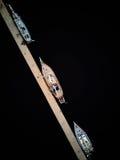 在港口的游艇 免版税库存图片