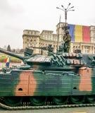 在游行的坦克细节 库存图片