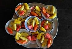 在湄公河三角洲的果子 免版税库存图片
