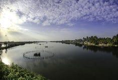 Hoi-an湖,越南6 图库摄影