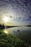 Hoi-an湖,越南7 图库摄影