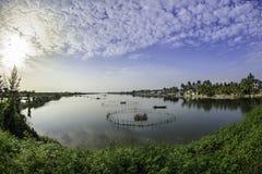 Hoi-an湖,越南7 库存照片