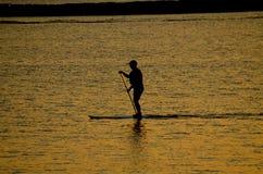 在湖的明轮轮叶在佛蒙特 图库摄影