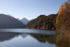 在湖的Reflextions 免版税库存图片