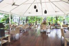 在澳大利亚密林的fornt的大阳台 图库摄影