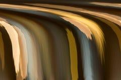 在瀑布形状经典之作backgroun的抽象地球音色 免版税图库摄影