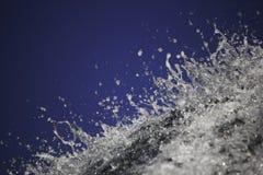 在瀑布的上面的水飞溅声 库存图片