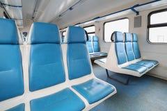 在火车的空位 图库摄影