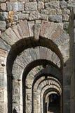在火鸡的曲拱石头 图库摄影