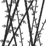 在灰色的竹子 皇族释放例证