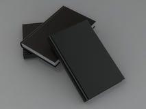 在灰色皮肤的书黑大模型 免版税库存图片