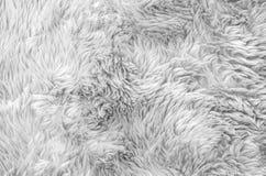 在灰色织品地毯的特写镜头表面抽象织品样式在房子在黑白口气的纹理背景地板  免版税库存照片
