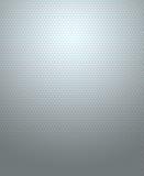 在灰色背景的六角形样式 免版税库存图片