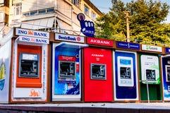 在点的ATM机器 库存图片