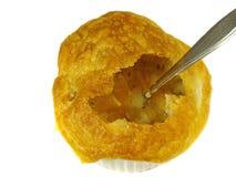 在烘烤的法国汤 免版税库存图片