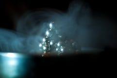 在烟的Neocube 库存图片